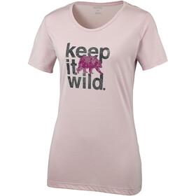 Columbia Outdoor Ele***** III T-paita Naiset, mineral pink